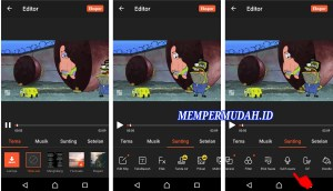 Aplikasi Edit Video DubbingMemasukan Suara di HP Android 8
