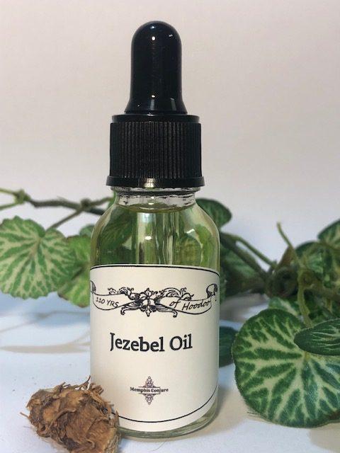 Jezebel Oil hoodoo voodoo pagan witchcraft