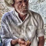Portrait, Man with cigarette, Ajmer Rajasthan