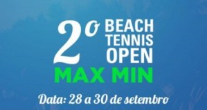 2º Max Min Beach Tennis Open