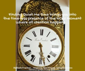 Finding Quiet Me-Time...