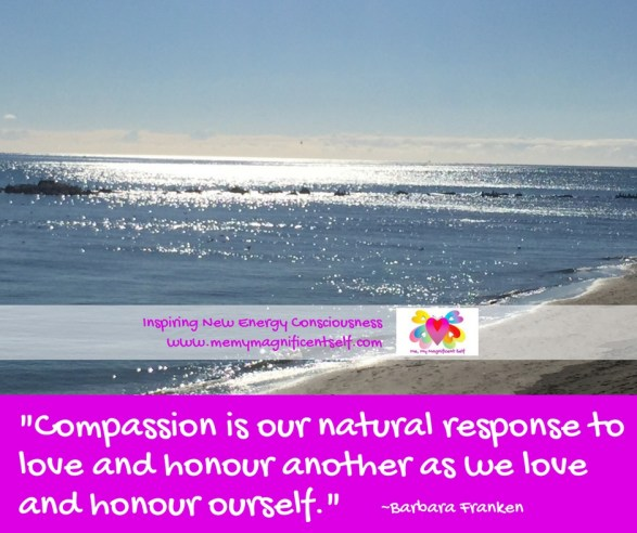 Compassion is...