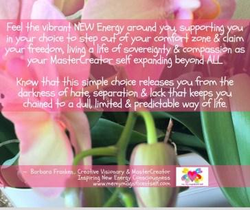 Vibrant NEW Energy...
