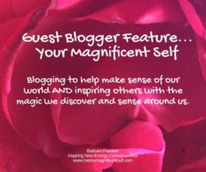 Guest Blogger Feature... Your Magnificent Self