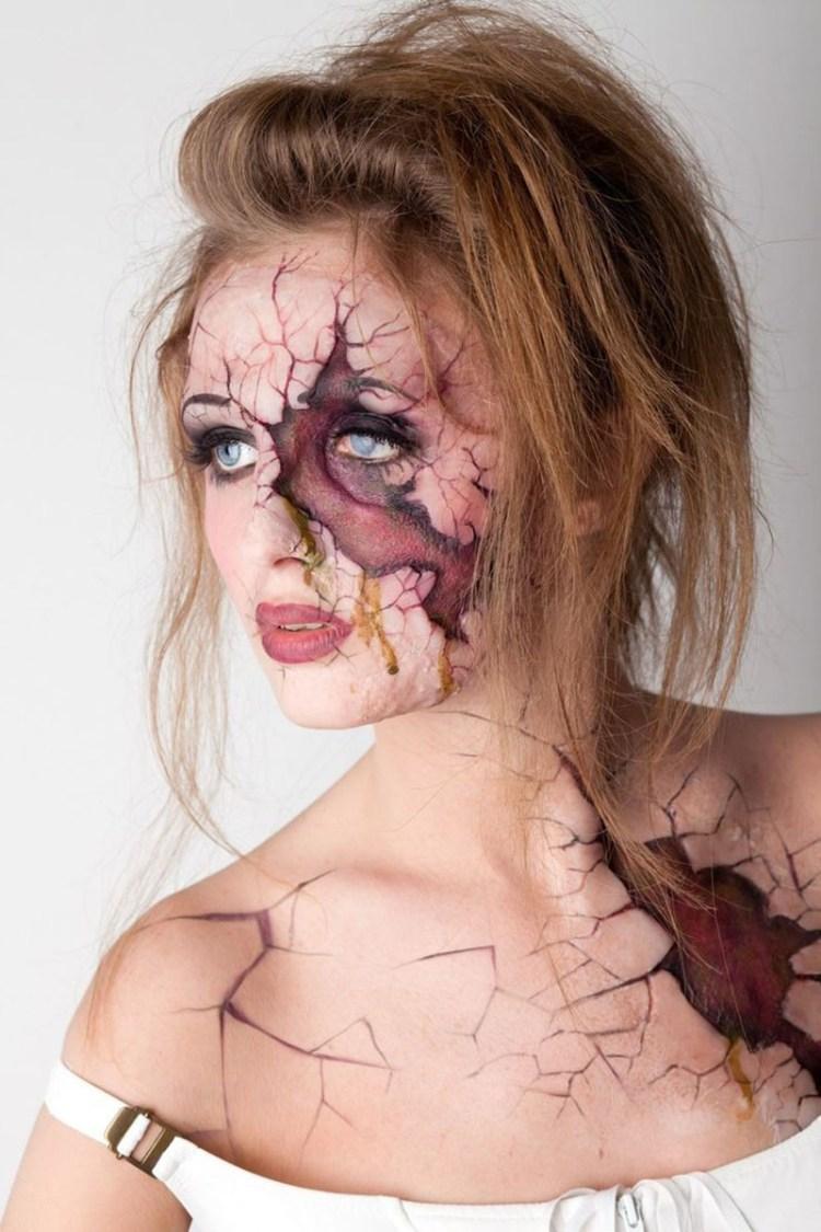 Broken skin girl 800x1200