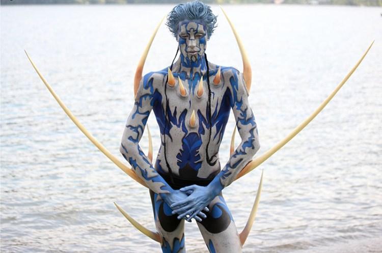 Foto  Seeboden al World Body Painting Festival