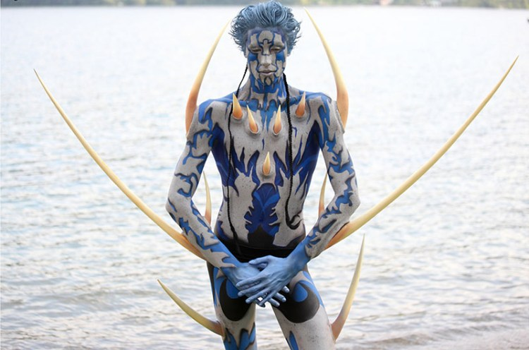 Foto  Seeboden al World Body Painting Festival