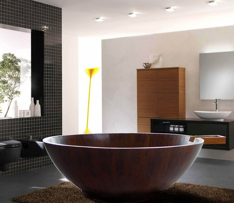 modern-round-wooden-bathtub