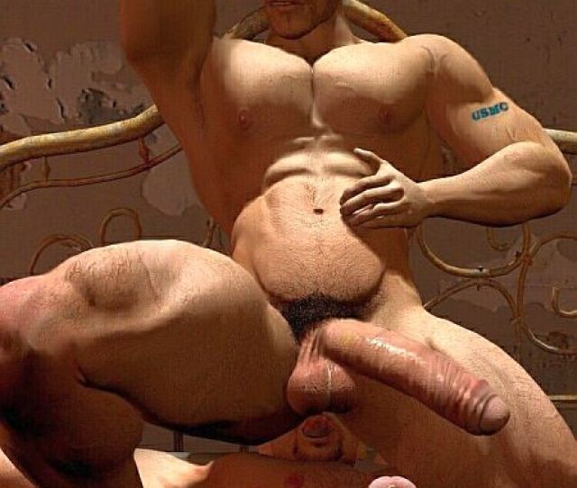 More 3 D Gay Art Xxx Muscle Animation