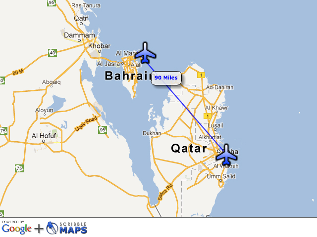 Doha Bahrain connection