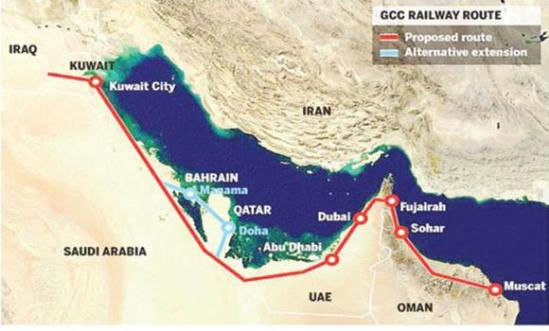 GCC-railways routes