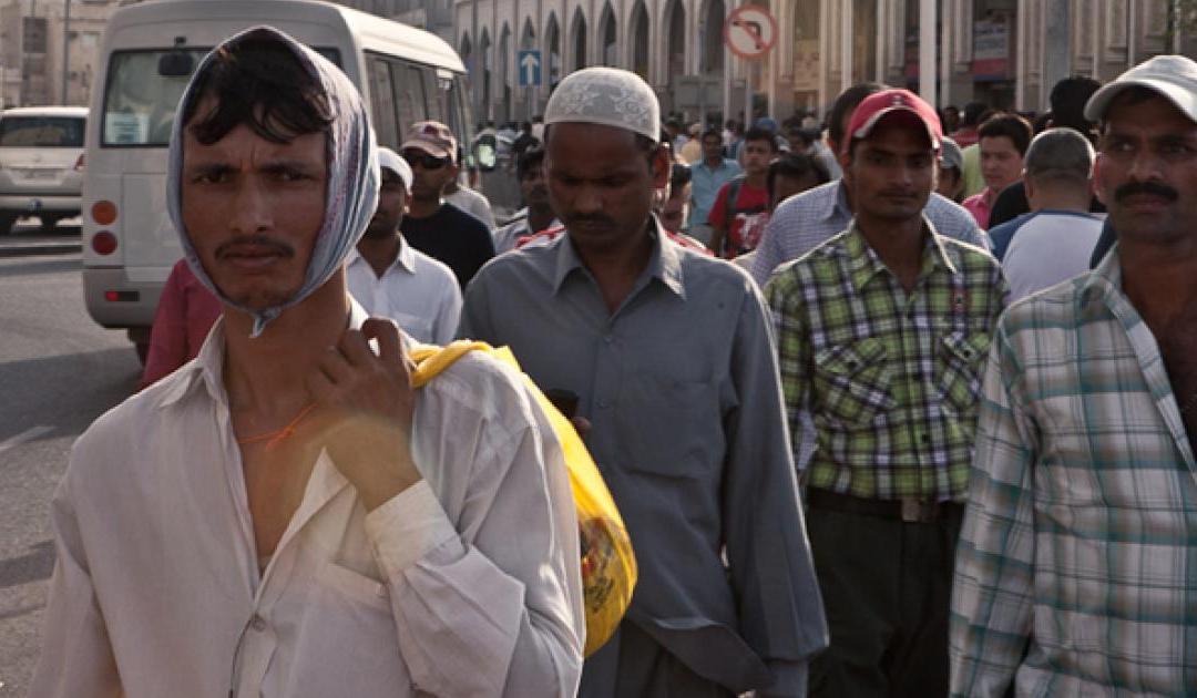 La population du Qatar en diminution