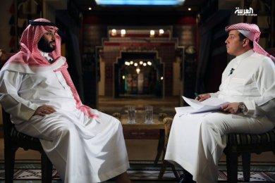 Prince Mohamed at Al Arabiya