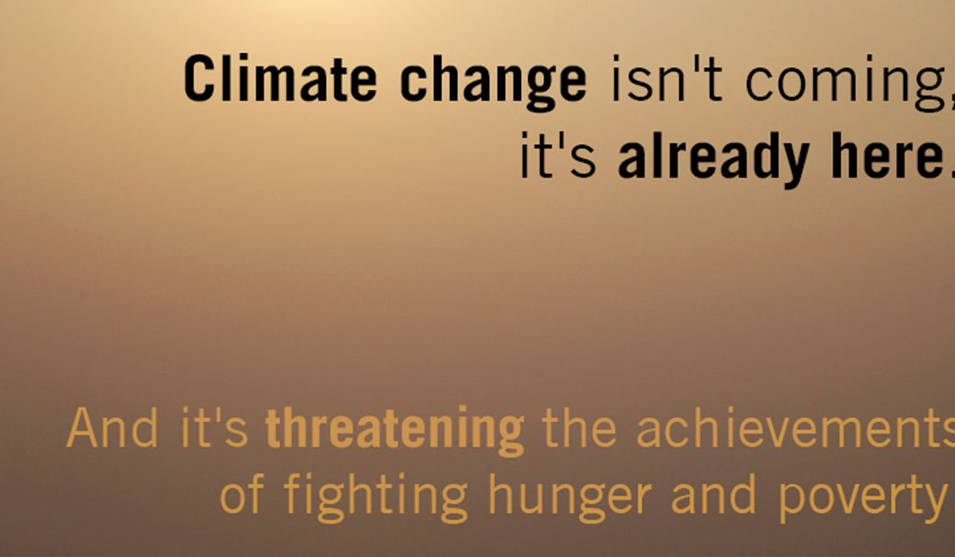 COP 21 Earth's Climate Change Challenge . . .