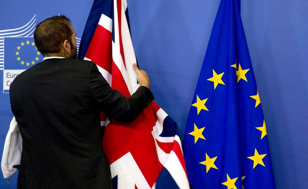 UK leaving the EU by a bearded felloww