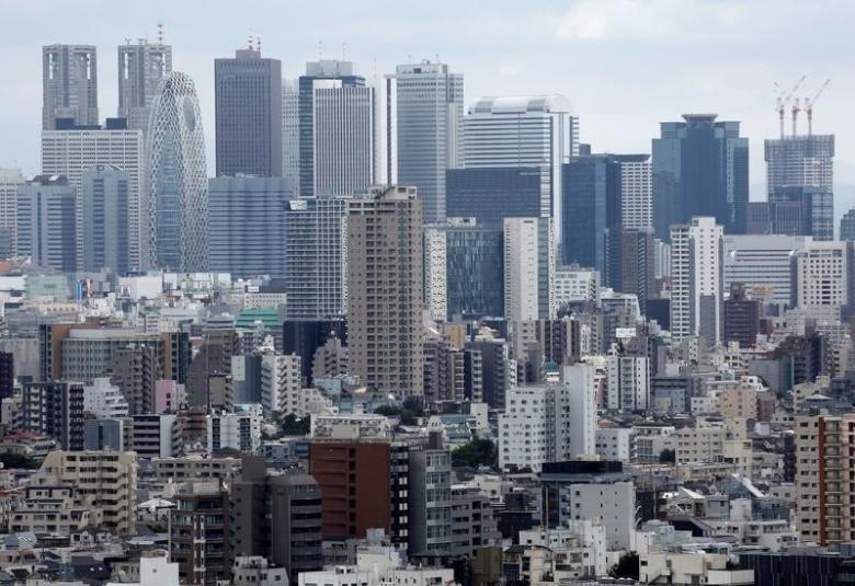 Residential and commercial buildings are pictured in Tokyo, Japan, August 16, 2016. Picture taken on August 16, 2016. REUTERS/Kim Kyung-Hoon