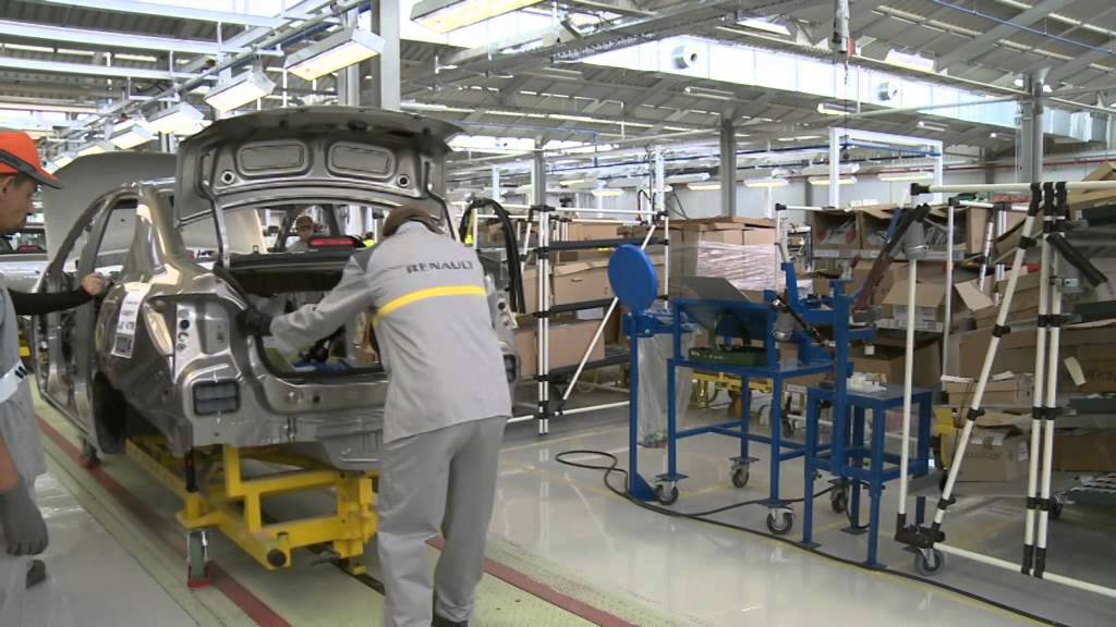 Automotive Industry in North Africa or Assembly Plants
