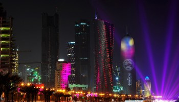 QATAR, the tiny Emirate accused of convenience with . . .