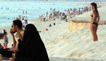 Saudi Touristic beach resort on the Red Sea