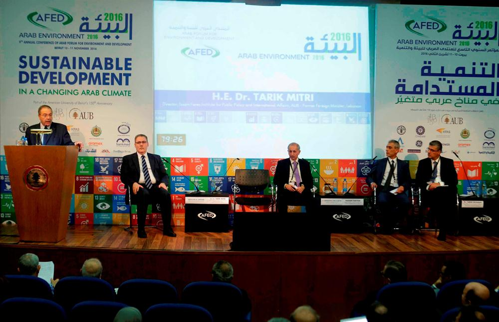 The overall environmental outlook in the Arab region is bleak