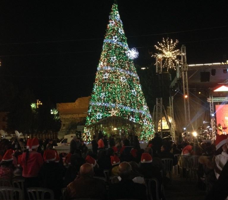 Christmas festivities in Bethlehem