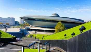 COP24 venue Spodek arena in Katowice, Poland. Milosz Maslanka/Shutterstock