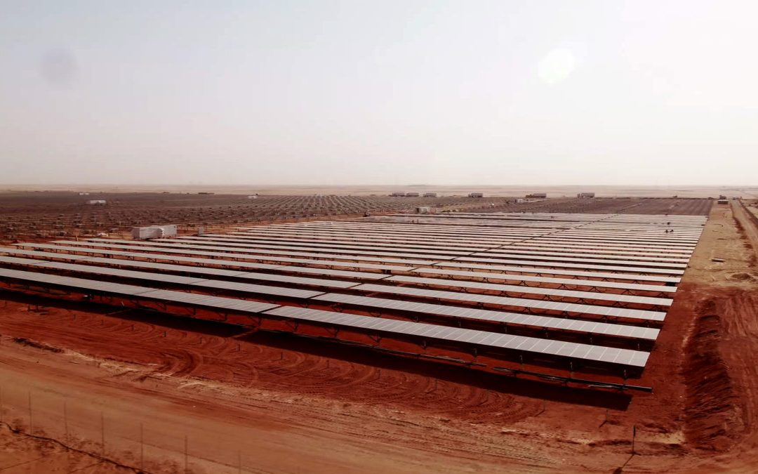 Full potential of solar PVs in the MENA