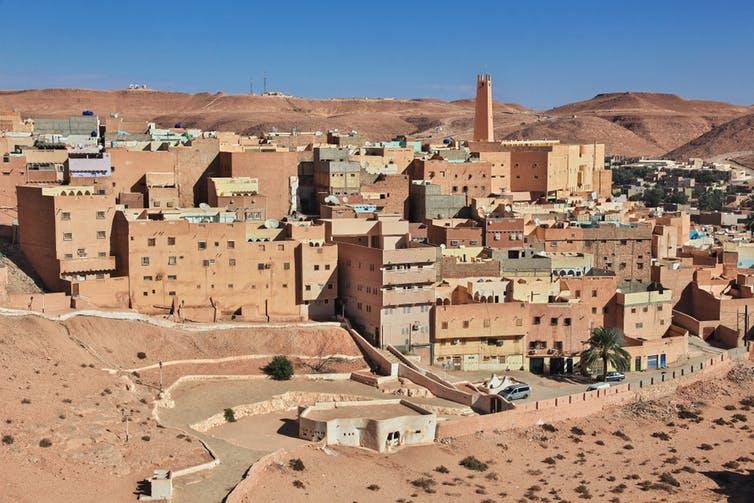 Solar panels all over the Sahara desert?