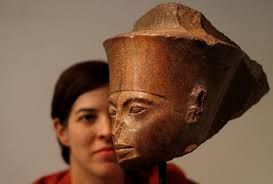 Tutankhamen head fetches millions at UK auction