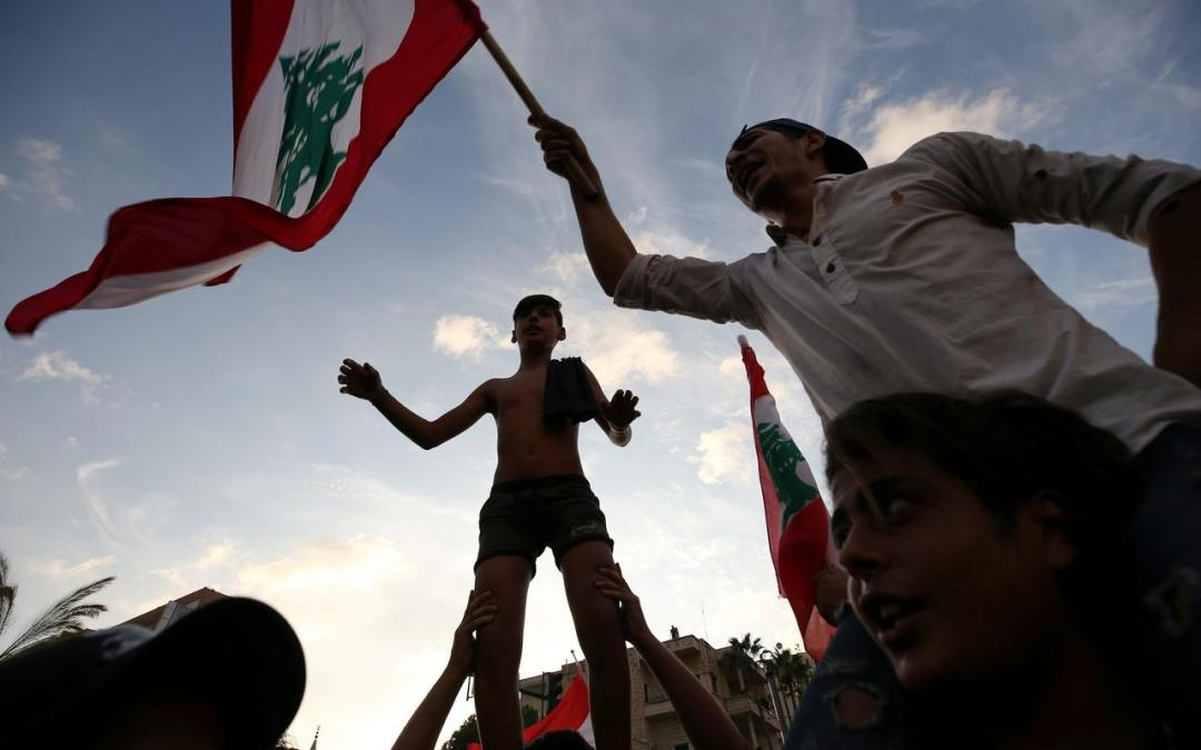 Allies, Investors, Protesters press for Change in Lebanon