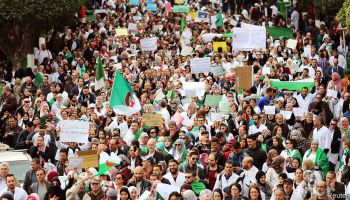 Street demonstrations more frequent in the MENA region