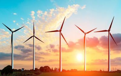 30MW Sidi Mansour wind farm in Tunisia
