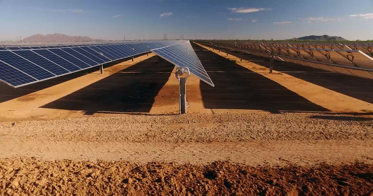 Solar Panels in Sahara could boost Renewable Energy but