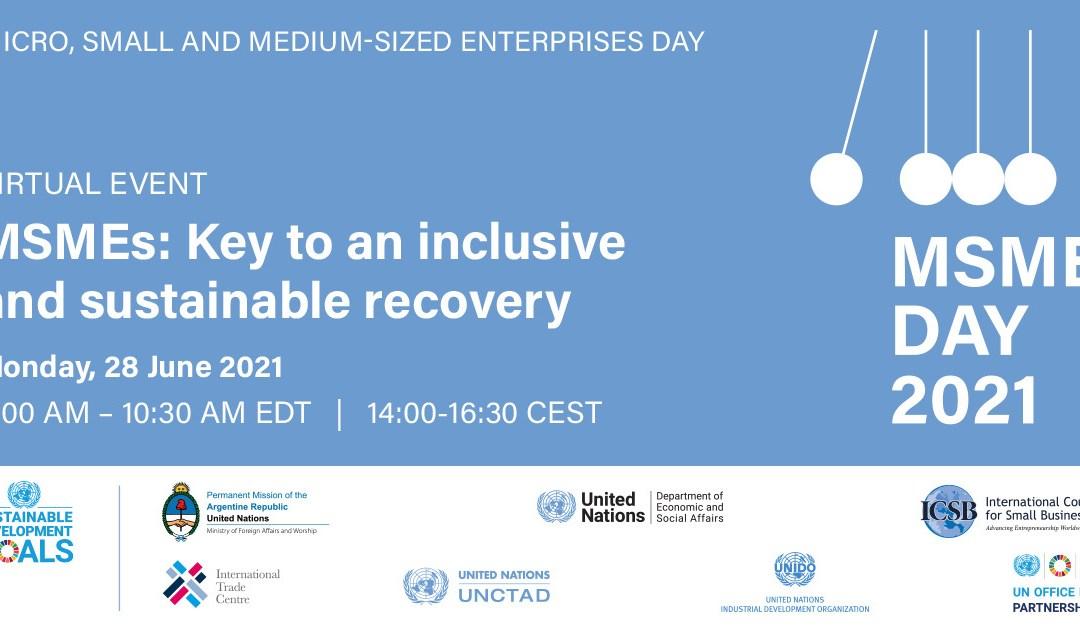 International MSMEs Day 2021