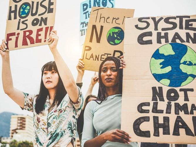 Students demand action on the climate crisis