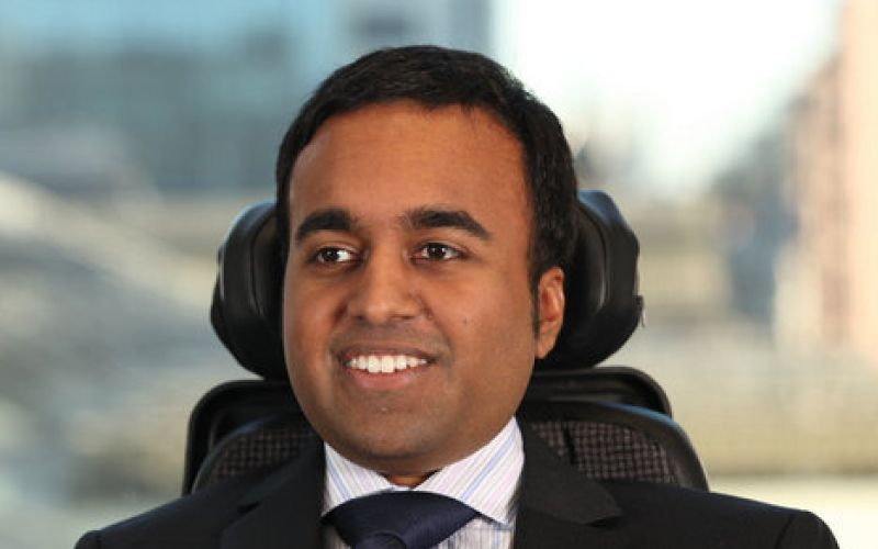 Young MBA Turns Disability into a Million Dollar Business