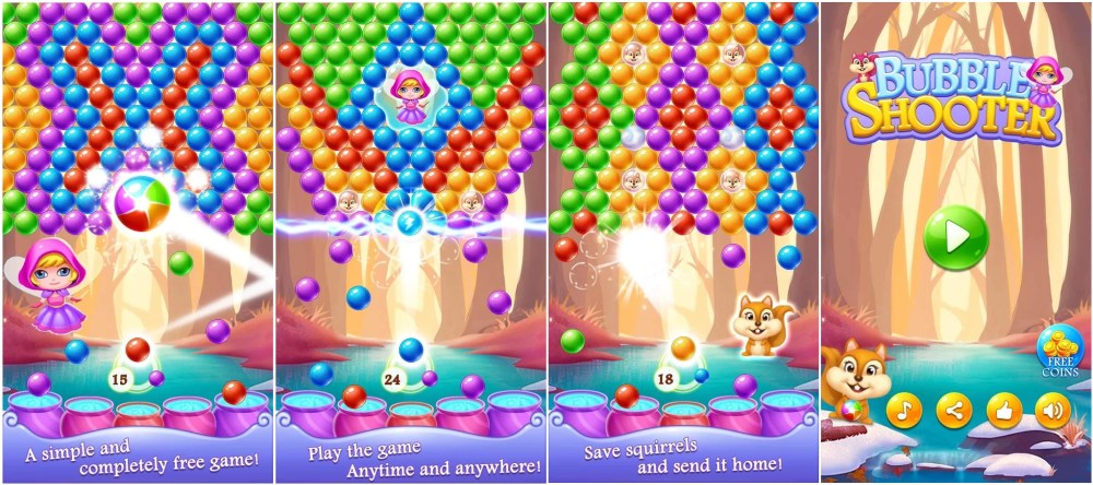 Enter the Bubble Universe with Bubble Rescue