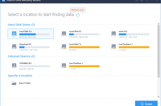 EaseUS The Best Hard Disk Data Recovery Software