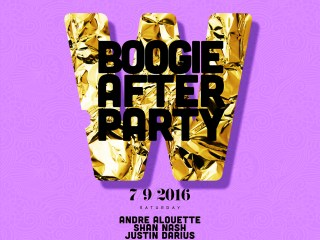 Boogie After Party with Andre Alouette, Shan Nash & Justin Darius