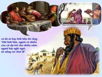 HIỆP SỐNG TIN MỪNG, CHÚA NHẬT 18 THƯỜNG NIÊN C, (Gv 1,2; 2,21-23 ; Cl  3,1-5.9-11 ; Lc 12,13-21) HÃY GIỮ MÌNH KHỎI MỌI THỨ THAM LAM – Mến Chúa Yêu  Người