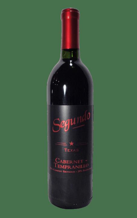 Segundo Texas Cabernet Tempranillo- Dry Red Wine