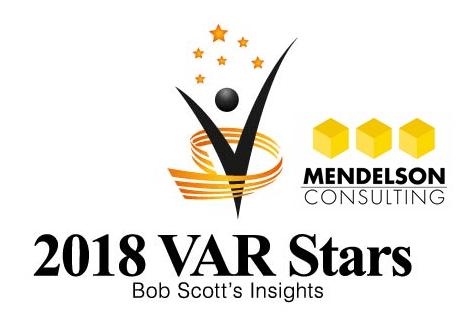 Mendelson Consulting Again Named Among Bob Scott's VAR Stars