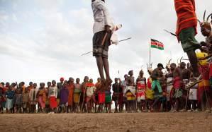 Marcy Mendelson, The Samburu Story | Samburu moran inpsire the next generation to jump as high.