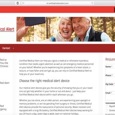 Image: Certified Medical Alert website