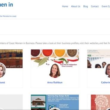 Image: Coast Women in Business website