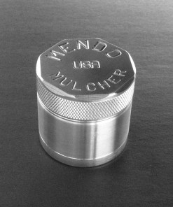 "Mendo Mulcher 1.75"" (inch) 4-Piece Screened Herb Grinder"