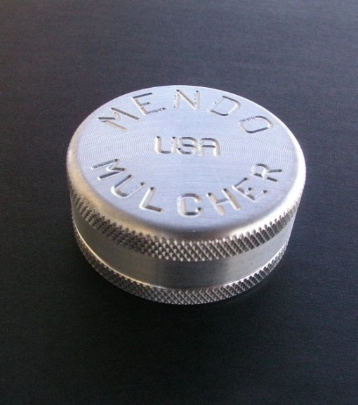 """Mendo Mulcher 1.75"""" (inch) 2-Piece Screenless Herb Grinder"""