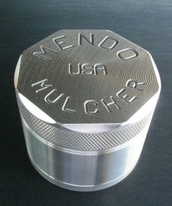 "Mendo Mulcher 2.25"" (inch) 4-Piece Screened Herb Grinder"