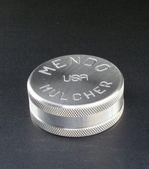 "Mendo Mulcher 2"" (inch) 2-Piece Screenless Herb Grinder"