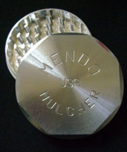 "Mendo Mulcher 3"" (inch) 2-Piece Screenless Herb Grinder"